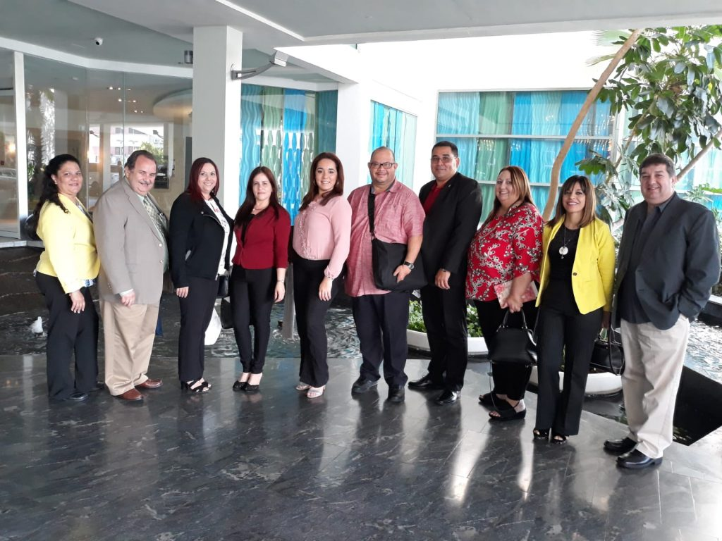 ALDL staff, some members of the Youth Committee with Mr. José A. Justiniano, President of the Local Board and Mrs. Hilda R. Renovales, Executive Director, who participated in the Symposium of the Youth Partnerships for Success Program.